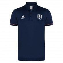 Adidas 17/18 Fulham Navy Travel Polo