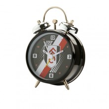 Fulham FC Stripe Mini Bell Clock