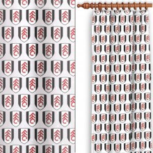 Fulham Multi Crest Curtains 72