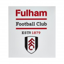 Fulham Small Crest Car Sticker