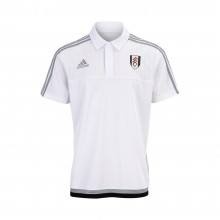 Adidas 15/16 Fulham White Travel Polo Childs