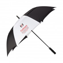 Fulham Twin Canopy Golf Umbrella