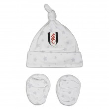 Fulham Hat & Bootie Set 16/17