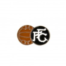 FFC Retro Football Badge