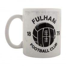 Fulham Retro Ball Mug